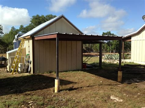 gabled carport and lean to awning wimberly