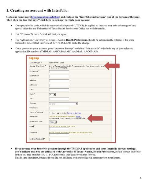 Letter Of Evaluation Amcas Interfolio