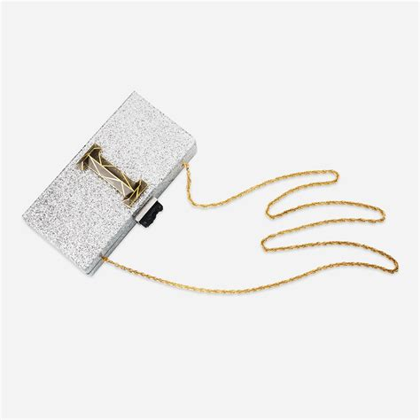 Lettering Clutch personalized clutch 3d lourve lettering modern indian