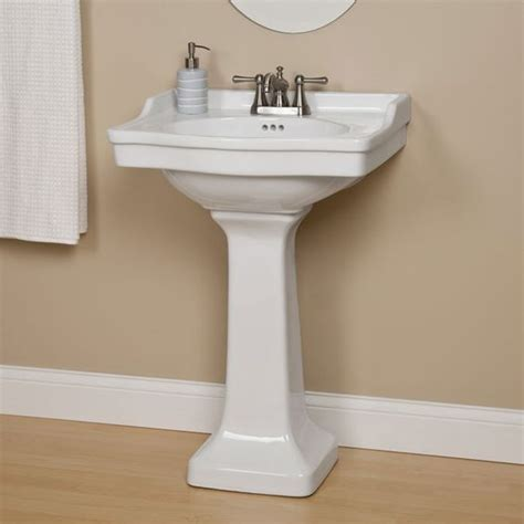 Wide Pedestal Sink Cierra Porcelain Pedestal Sink Pedestal Products And
