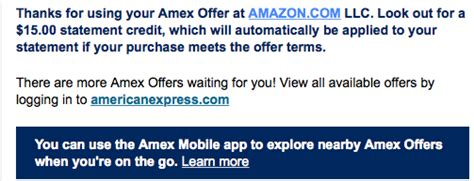 Use Amex Gift Card Amazon - last chance use your amex offers for you at amazon points miles martinis