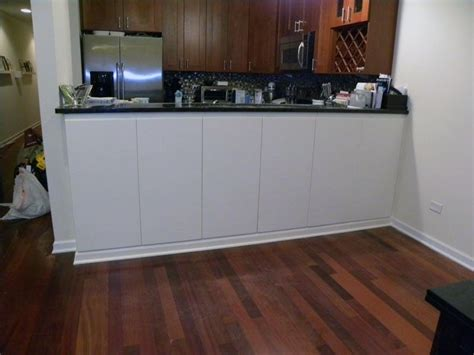 Bar Height Cabinets by Custom Painted Cabinets Bar Height Counter By Pryor