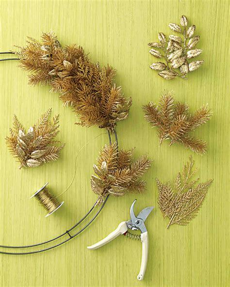 how to make a wreath how to make a wreath martha stewart