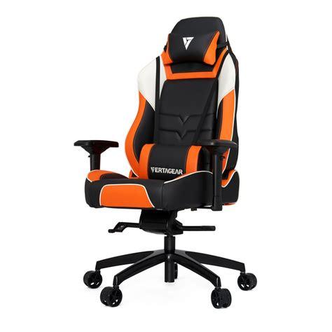 orange and black gaming chair vertagear pl6000 gaming chair black orange best deal