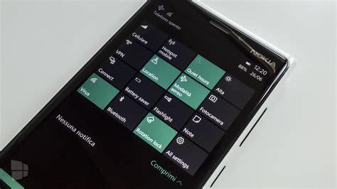 aggiornamento windows mobile disponibile windows 10 mobile build 10166 novit 224 e guida