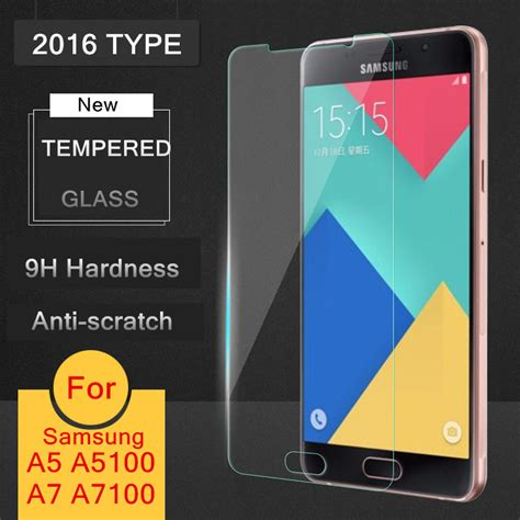 Hyper Glass Samsung Galaxy A7 2016 Clear Tempered Glass 2016 new tempered glass ᗗ for samsung galaxy a3