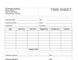 Employee Time Sheet Template by Weekly Hours Sheet Calendar Template 2016