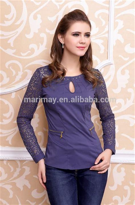 Baju Atasan Wanita Blouse Violins Ruffle model baju blus wanita modern terbaru 2016 danitailor