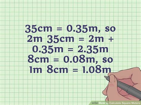 3 simple ways to calculate square meters wikihow 3 simple ways to calculate square meters wikihow