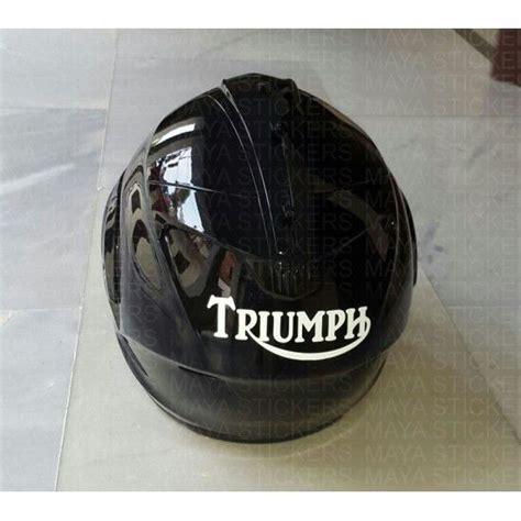 Triumph Helm Aufkleber by Triumph Logo Helmet Stickers Helmet Stickers