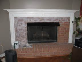 brick fireplace makeover ideas laminated wooden wall mounted shelf white brick fireplace