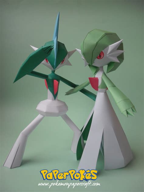 Gardevoir Papercraft - gardevoir gallade papercraft by xdcosmo on deviantart