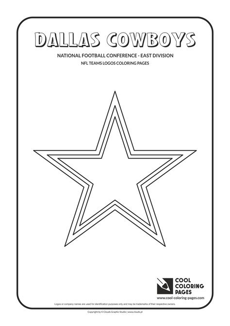 Dallas Cowboys Nfl Sheets Coloring Pages Dallas Cowboys Coloring Pages