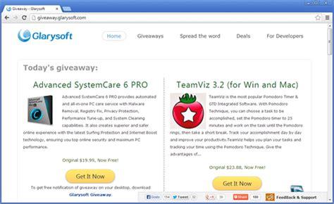 Glarysoft Giveaway - 3 sites que oferecem programas pagos de gra 231 a