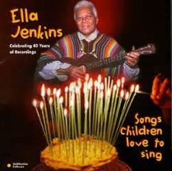libro a lover sings selected ella jenkins fun music information facts trivia lyrics