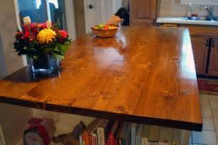 how to stain and waterproof a wood countertop home on