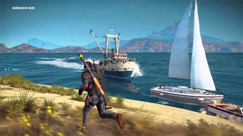 boats just cause 3 just cause 3 boat glitch youtube