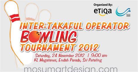 design banner kosmetik design banner bunting etiqa bowling tournament mosum
