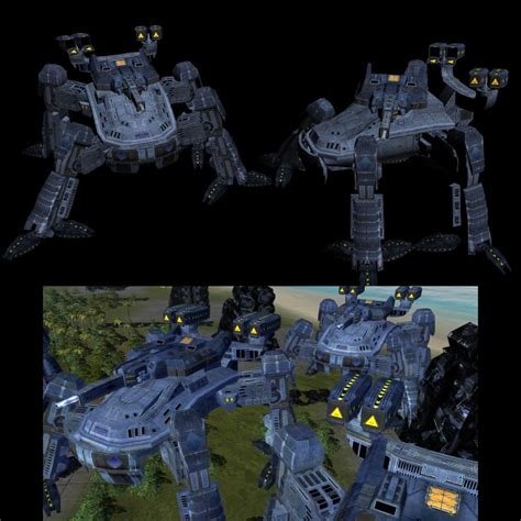 supreme commander mod uef units image total mod for supreme commander