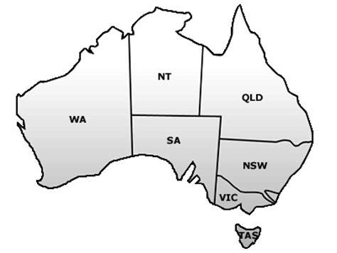 Outline Pty Ltd by Map Of Australia Template Derietlandenexposities