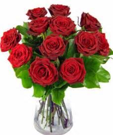 Flowers Delivered Valentines Day - order a true romantic dozen 12 red roses delivered