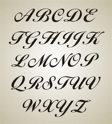 font templates to print fancy letter l fancy letter stencils fonts