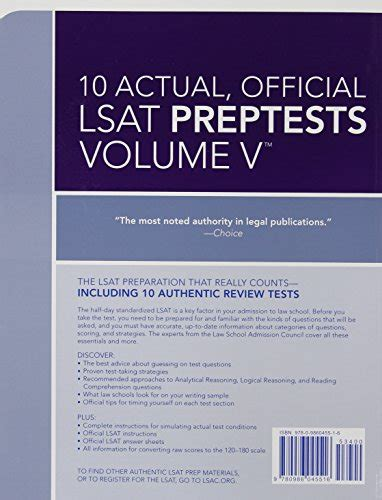 10 new actual official lsat preptests preptests 52 61 lsat series best 10 actual official lsat preptests volume v