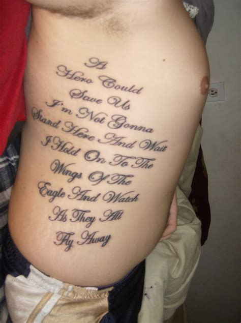 quote tattoos on ribs inspirational tattoos designs ideas and meaning tattoos