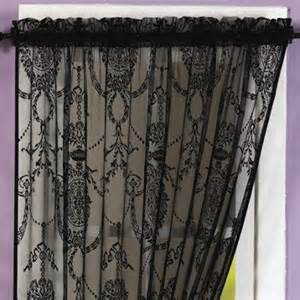Black Lace Curtains Curtains Blinds Bedding Chiltern Mills