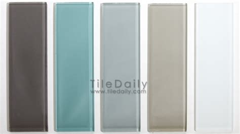 subway tiles colors glass subway tile 5 colors tiledaily