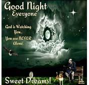 Good Night God Bless  Inspirational Messages