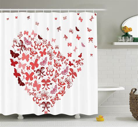shower curtain with stars hearts and stars shower curtain hooks shower curtain