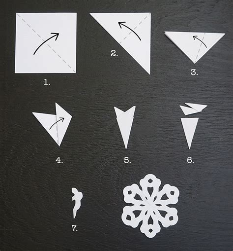 How To Make A Easy Paper Snowflake - 20 frosty snowflake craft ideas for s
