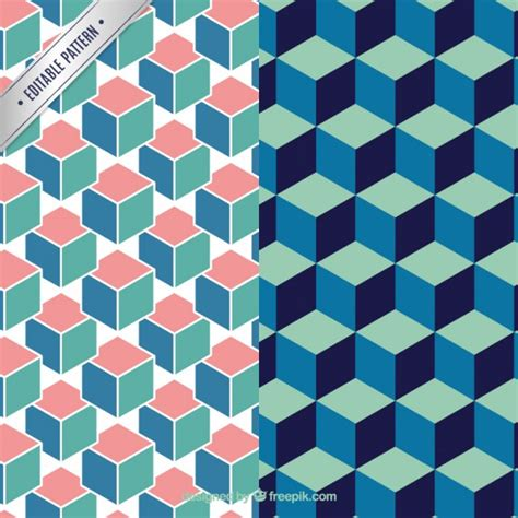 ai pattern pack geometrical pattern pack vector free download