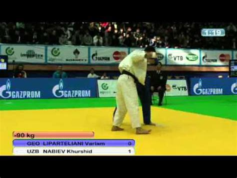 judo world masters in baku 2011:  90kg liparteliani