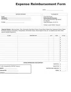 expense reimbursement template excel best photos of expense reimbursement form template excel