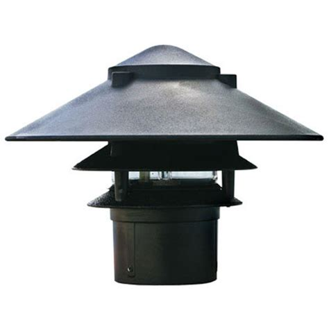 3 tier landscape lighting filament design corbin 1 light black 3 tier outdoor pagoda pathway light cli dbm3700 the home