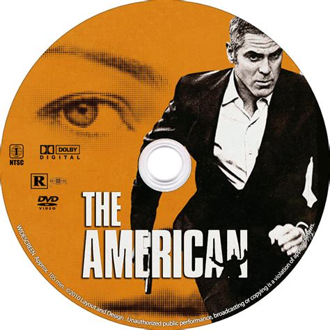 The American The American Custom Label Custom Dvd Labels The American Cd Dvd Covers