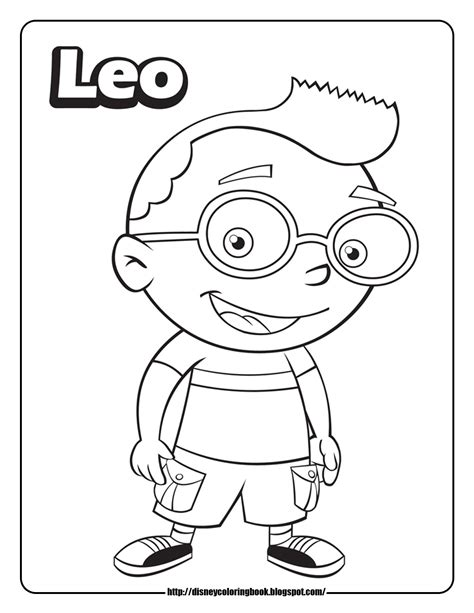 Leo Coloring Pages einsteins 3 free disney coloring sheets learn to