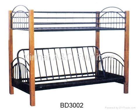 iron bunk beds modern double bunk metal sofa bed bd 3002 china
