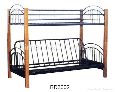Iron Bunk Beds Modern Bunk Metal Sofa Bed Bd 3002 China Manufacturer Bedroom Furniture Furniture