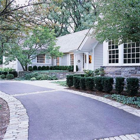 driveway curb appeal 20 ways to add curb appeal
