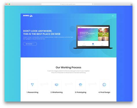 30 Best Free Landing Page Templates 2019 Uicookies Easy To Build Websites From Templates