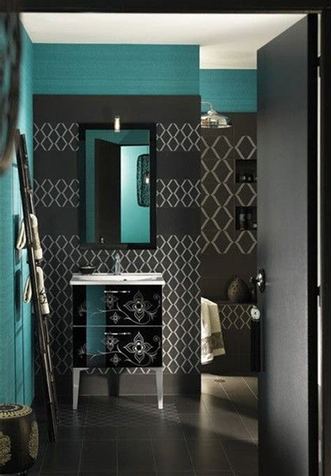 teal bathroom ideas teal and dark gray bathroom idea dreeeam house