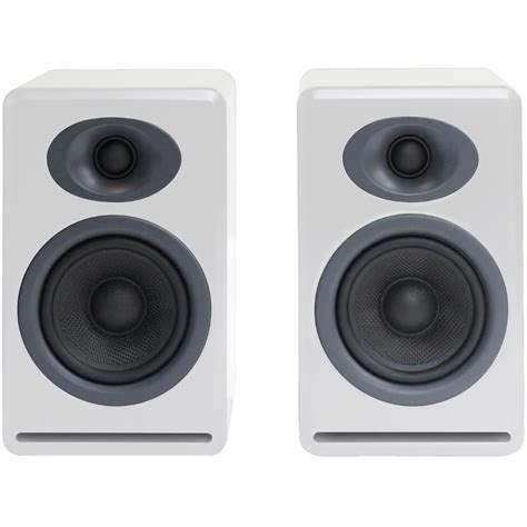 audioengine p4 2 way passive bookshelf speakers ap4w b h photo
