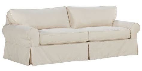 Slipcovers For Sofa Sleepers Sure Fit Stretch Pique Full Slipcovered Sofa Sleeper
