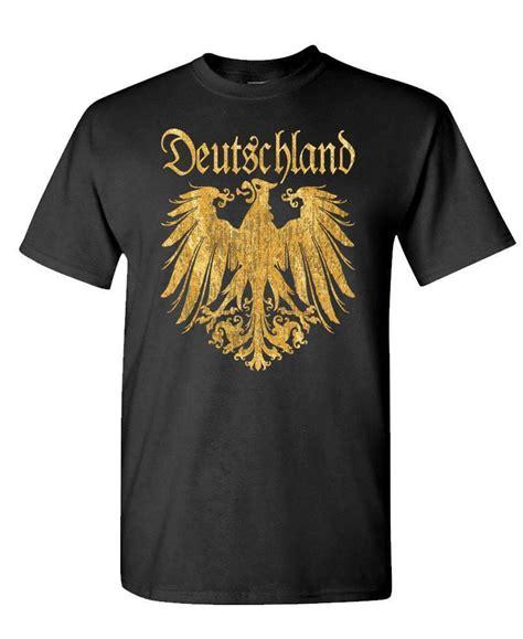 Germany T Shirt deutschland german eagle t shirt shirt germany golden