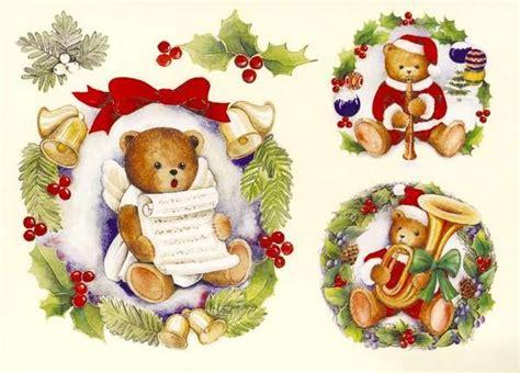 catalogo chion candele carta decoupage 3d cm 9x12 conf 4 fg orsi natale