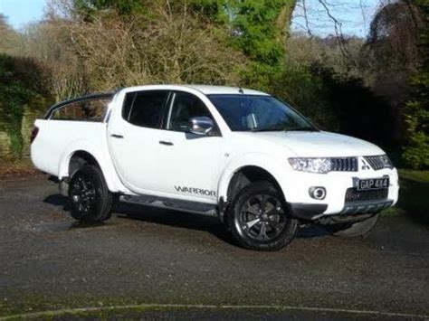 mitsubishi warrior 2010 2010 60 mitsubishi l200 warrior 2 5 did auto in white with