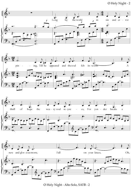 vocal solo o holy night vocal solo and choir zabriskie holy